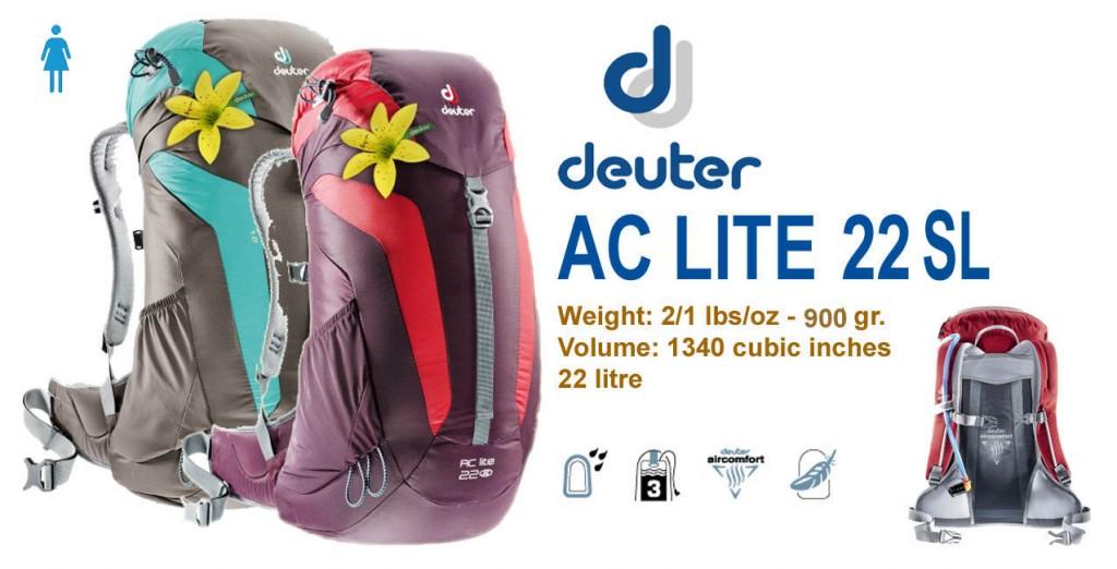 Deuter AC Lite 22 SL